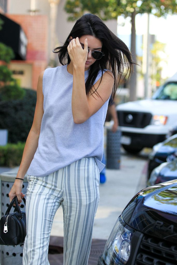 Kendall Jenner is seen out and about on January 21, 2016