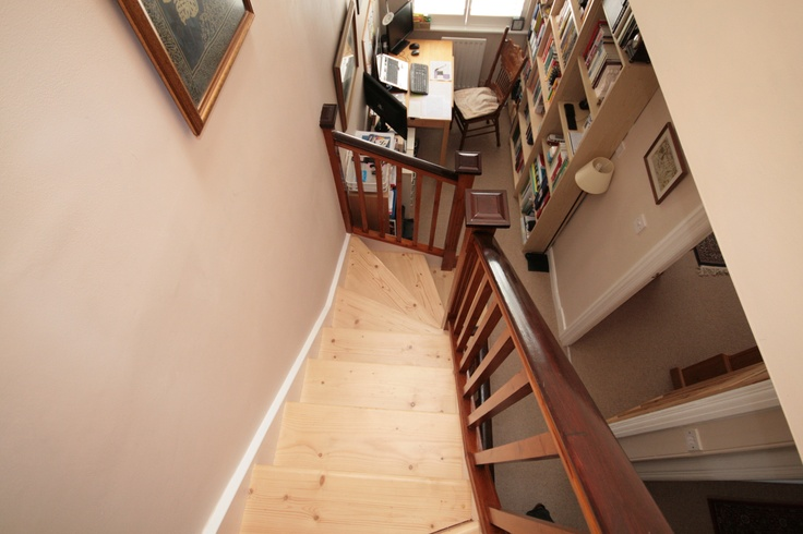 This staircase is an integral part of the home.
