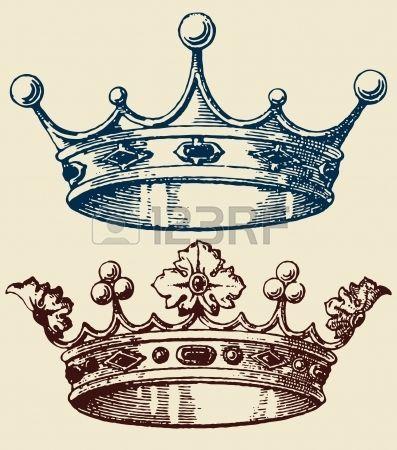 sketch de coronas para tatuajes - Buscar con Google