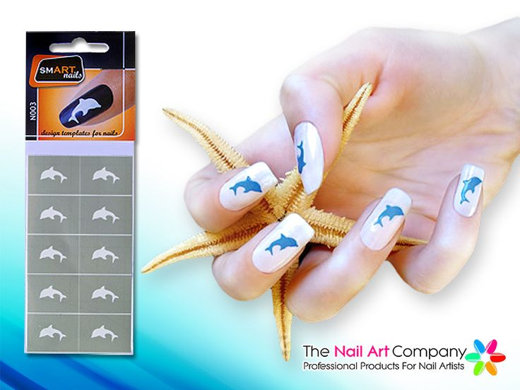 67 best smart nails nail art stencils images on pinterest nail dolphin nail art stencils by smartnails makes adding instant nail art easy and quick all you need is a stencil and nail polish for excellent results prinsesfo Images