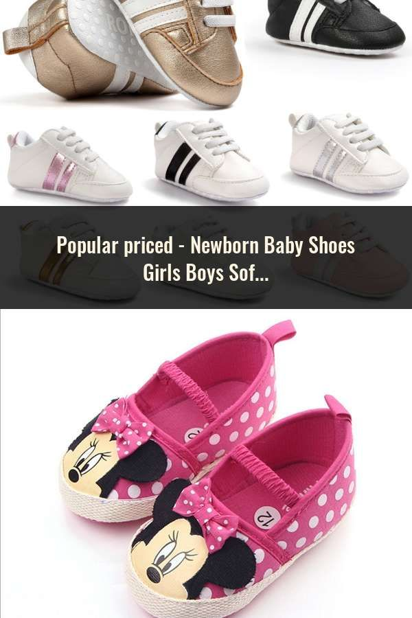 Prewalker Newborn First Walker Baby Boy Girl Moccasins Soft Canvas Shoes Infant