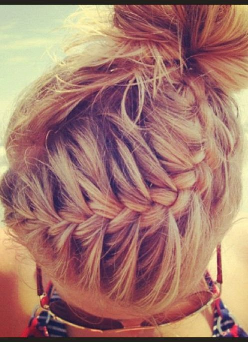 Trini loves french braids and she also likes messy buns, sometimes she likes to wear them together.