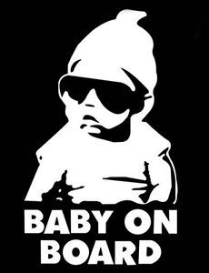 New Baby on Board Carlos Hangover Funny Vinyl Car Window Laptop Decal Stickers | eBay