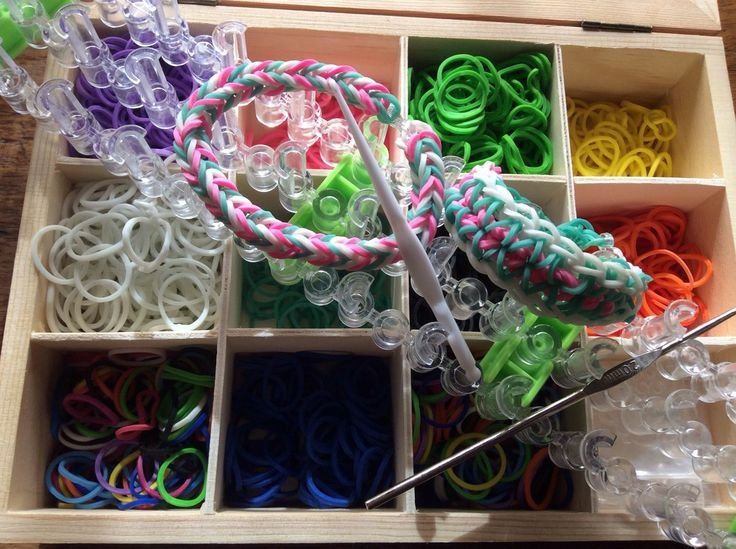 how to make loom bands with fork