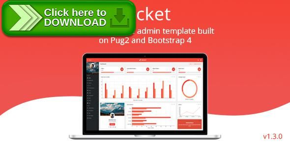 [ThemeForest]Free nulled download Rocket - Bootstrap 4 Admin Template + Pug2(JADE) Template Engine + BEM from http://zippyfile.download/f.php?id=28472 Tags: admin, admin dashboard, Bem, bem bootstrap, bootstrap 4, bootstrap admin, bootstrap admin template, cms, crm, dashboard  admin theme, jade, pug, template engine