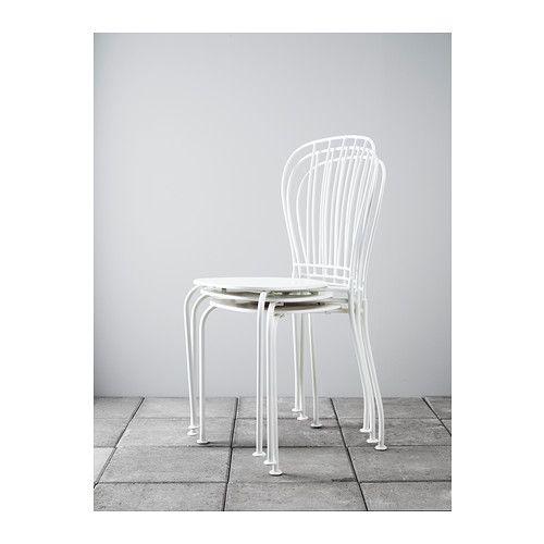 LÄCKÖ Chair, outdoor - white, - - IKEA