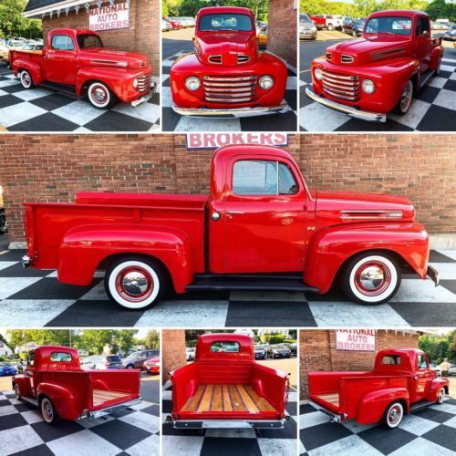 1948 Ford F2 Pickup Truck Restored Including New Engine