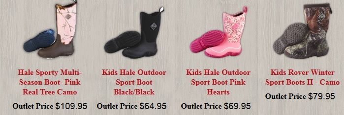 Muck Boots Outlet is a family owned business offering a full range of muck boots for men, women and kids. We are an authorized dealer for the Muck Boot Company. Our goal is to offer the customers the perfect fit at outlet prices. There are a number of quality muck boots on sale, so visit our website.