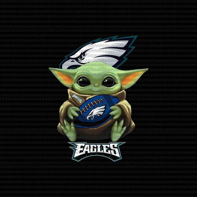 Baby Yoda Philadelphia Eagles Png Baby Yoda The Mandalorian The Child Christmas Png Baby Yoda Png Star Wars Png The C In 2020 Yoda Png Philadelphia Eagles Eagles