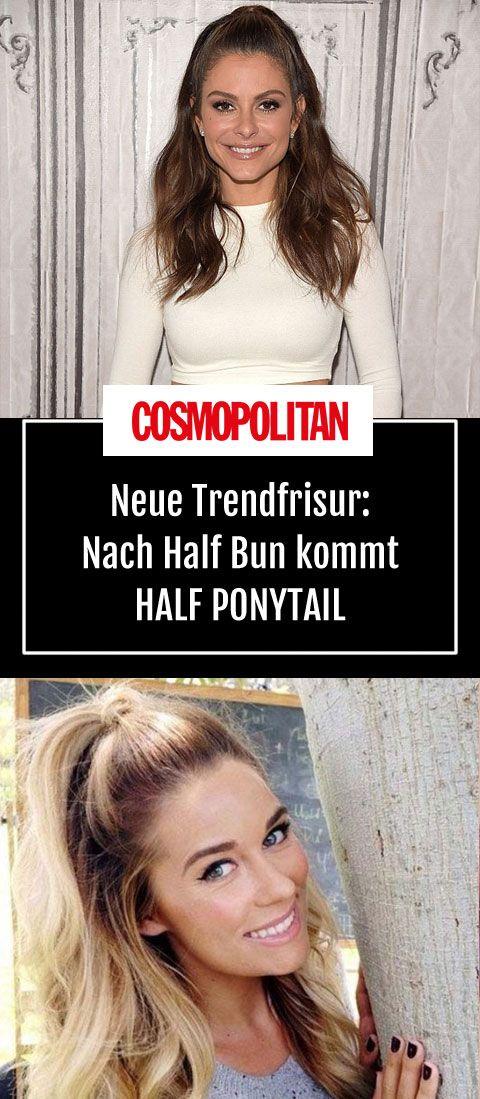 Half Ponytail: Neue Trendfrisur: Nach Half Bun kommt Half Ponytail