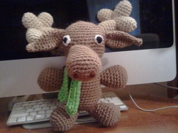 Amigurumi Moose : 1000+ images about amigurumi deer and moose on Pinterest ...