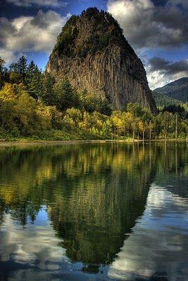 Beacon Rock State Park ~ Washington State ~ Columbia River Gorge