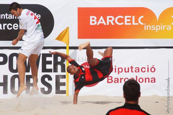 Beachsoccer final Barcelona Cup FC Lokomotiv Moscow - CR Flamengo 2015