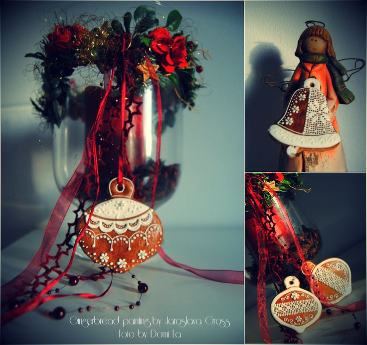 Photo by DomiLa , my mother and her gingerbread works II.