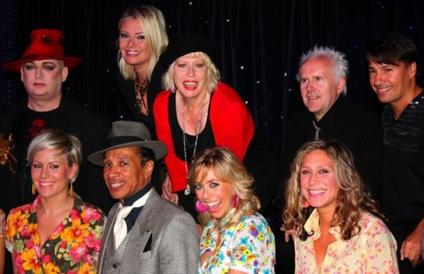 With Hazel O'Connor, Boy George, Howard Jones, Nathan Moore and Kid Creole & the Coconuts, 2008.