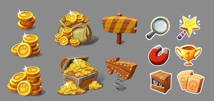 All sort of art for casual game on Behance