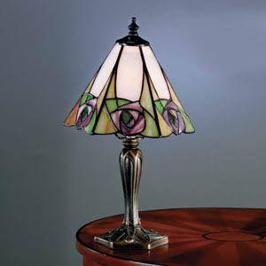 tiffany style lamp small