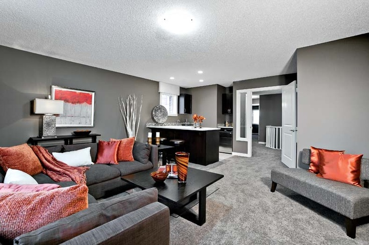Bonus room in Leera Showhome in Sherwood in NW Calgary, Alberta, by Shane Homes