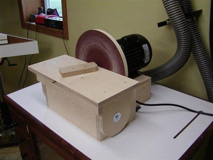 12 Disc Sander - by ChunkyC @ LumberJocks.com ~ woodworking community