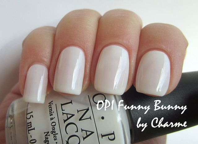 opi funny bunny - Awesome awesome white nude for your nails! One of my faves to use!
