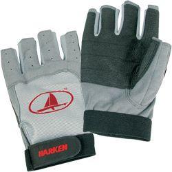 3/4 Finger Black Magic Sailing Gloves - Green/Black - M