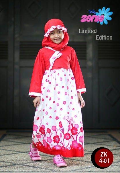 contoh baju muslim anak