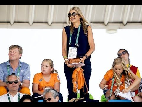 Dutch Royals watching the Olympic Games - Rio 2016
