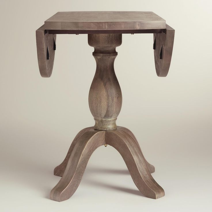 Our Round Drop Leaf Table Is A Versatile, Space Saving Solution For Urban  Studios