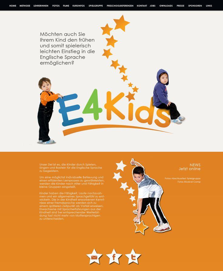 E4Kids website