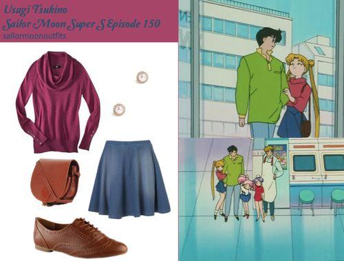 Usagi Tsukino,Sailor Moon Super S Episode 150