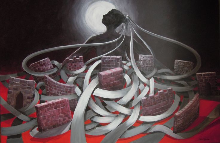 "Zobeide (Ζοβεϊδα)  inspired by Italo Calvino's book : ""Invisible Cities"""