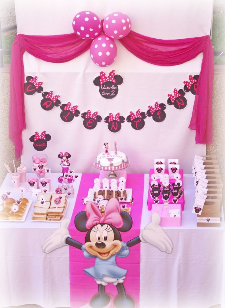 Decoración cumpleaños de Minnie Mouse! | Hazlo Especial