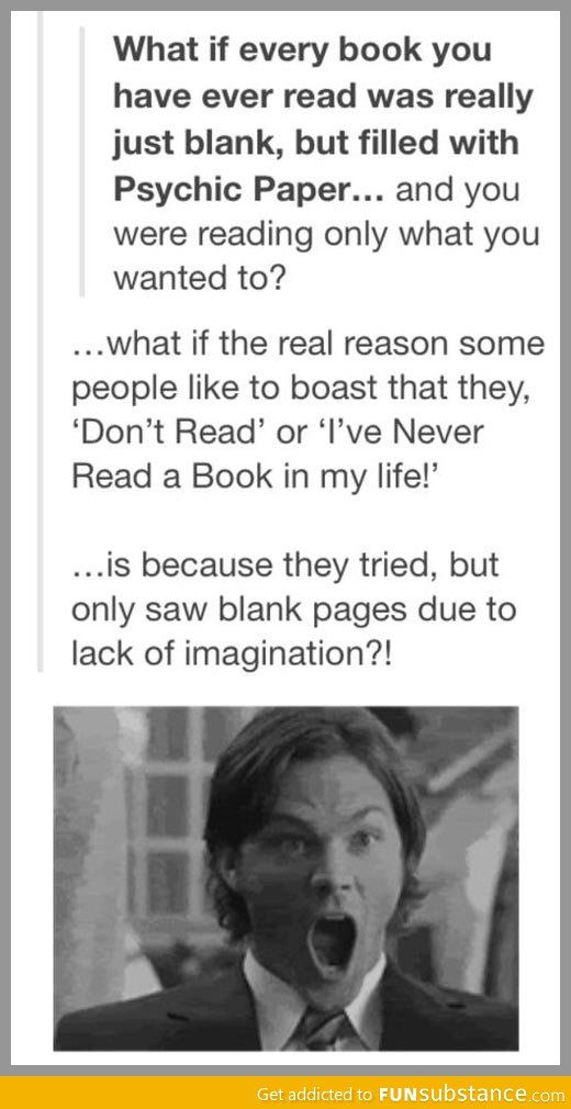 Book conspiracy...mind=blown. I must be brilliant if this is true!
