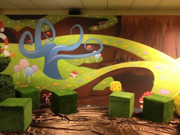 Large 6m Willy Wonka Backdrop 1 2015 Pinterest