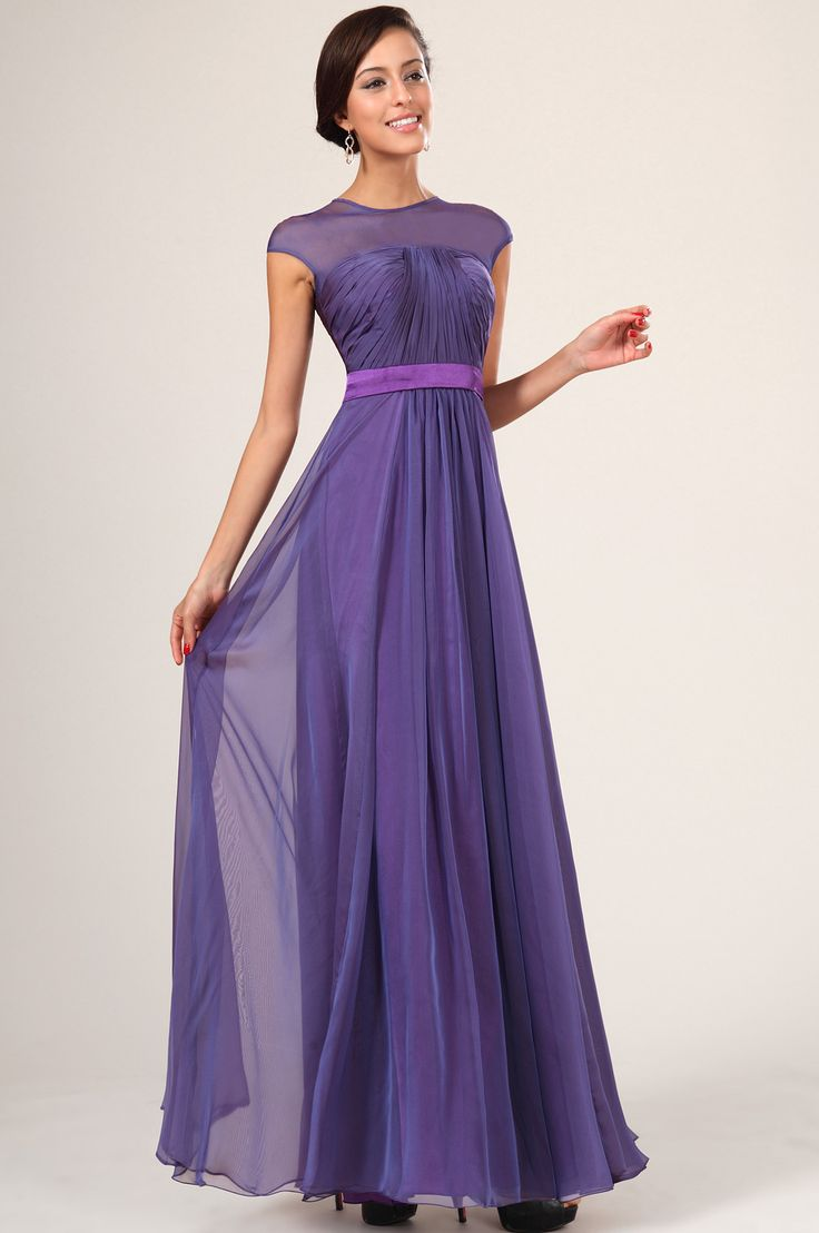 19 best purple bridesmaid dress images on pinterest bride purple bridesmaid dresses with sleeves 1 2 ombrellifo Image collections
