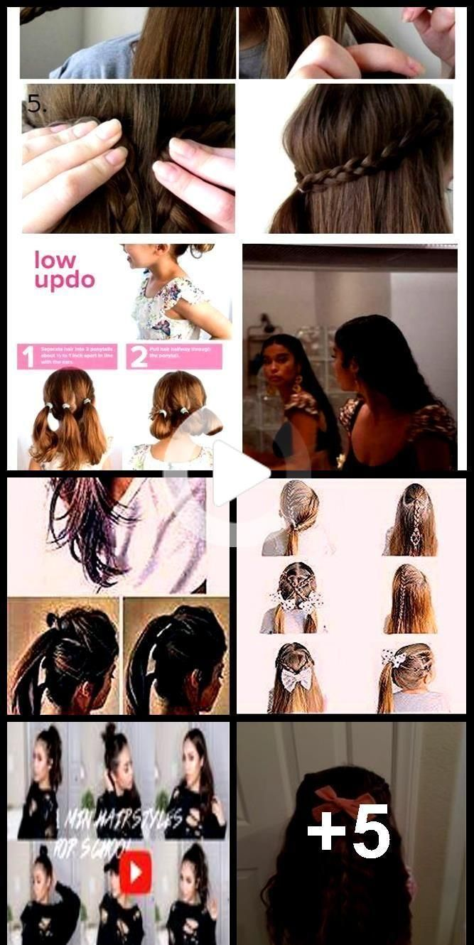 Terrific Snap Shots Quick Hairstyles On Unwashed Hair For School Nails Nailar Hair In 2020 Quick Hairstyles Quick Hairstyles For School Hairstyles For School