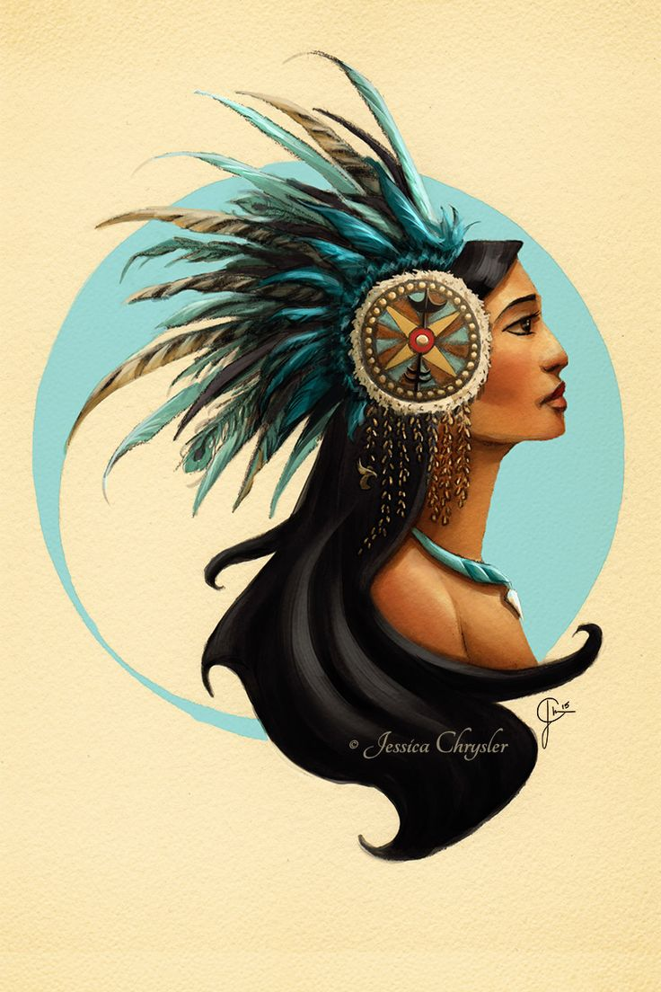 Tribal Princess Pocahontas by jesschrysler.deviantart.com on @DeviantArt