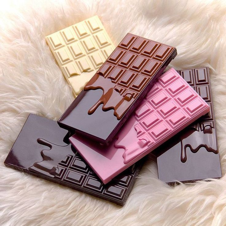 I heart makeup palettes - chocolate, pink fizz, caramel, naked chocolate& death by chocolate - £7.99