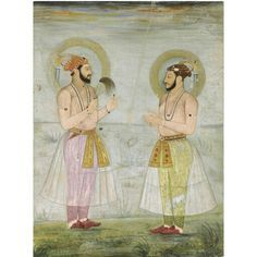 Dara Shikoh with son Sulaiman.