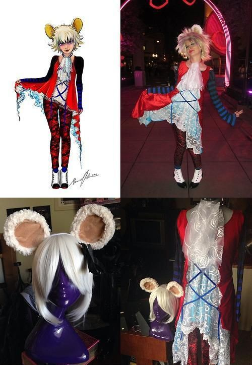 Mad T Party Concept Art Dormouse Cosplay Costume by Lillum ...