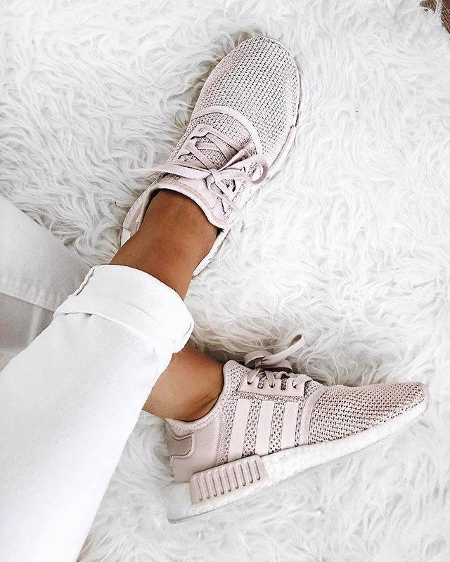 Blush pink sneakers. #sneakers #gymshoes #athleticshoes ...