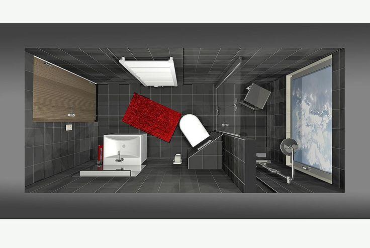 Frieling Das Schlauchbad   5 qm   Kleines bad gestalten ...
