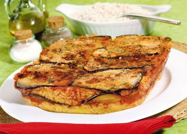 Ricetta : Sformato di riso e melanzane alla Palermitana