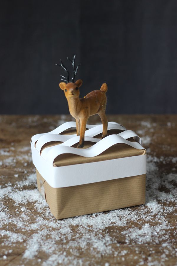 6 fun Christmas gift-wrap ideas with brown paper | Growing Spaces
