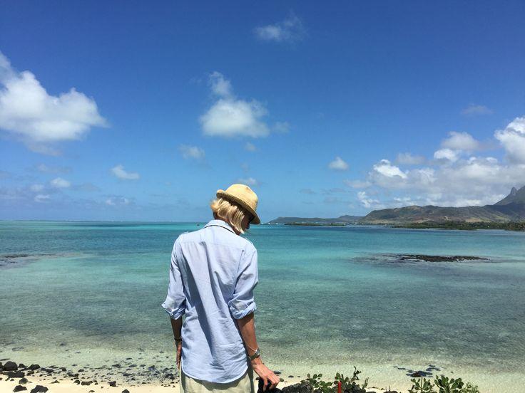At Ile Aux Cerfs in Mauritius