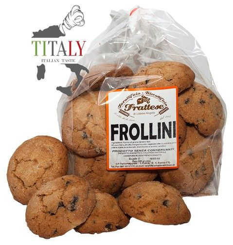FROLLINI ARTISAN WITH PIECES OF CHOCOLATE 1,0 kg