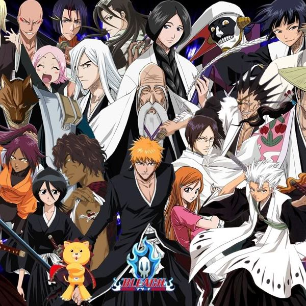 Все персонажи аниме блич картинки