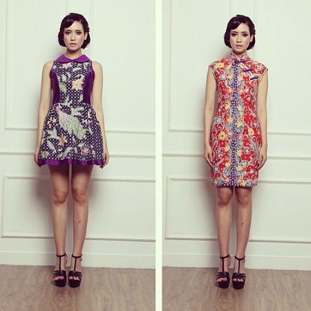 Sephora batik dress