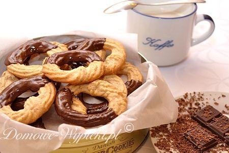 Migdałowe krążki w czekoladzie