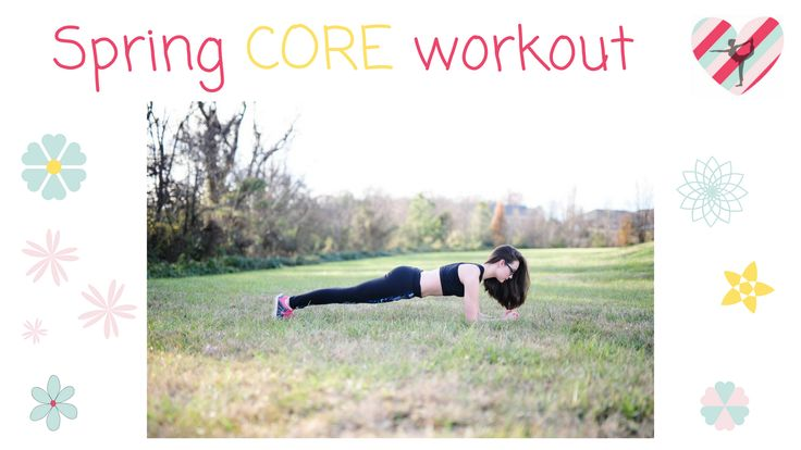Let's work your CORE! Link: https://www.youtube.com/watch?v=T7FwGIRplrE